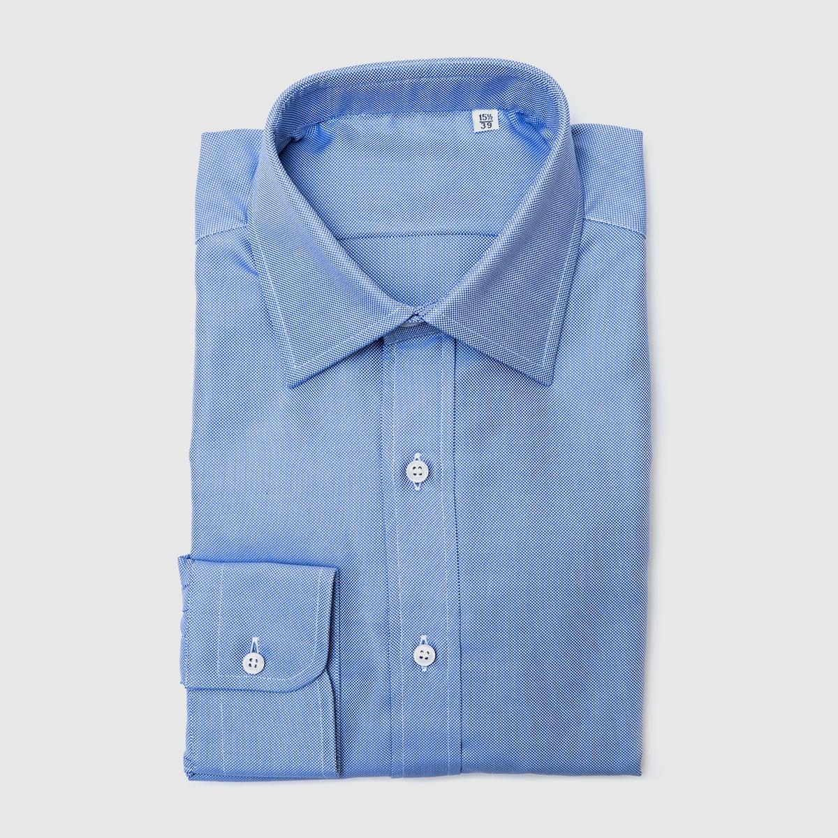 Camicia Oxford Azzurra