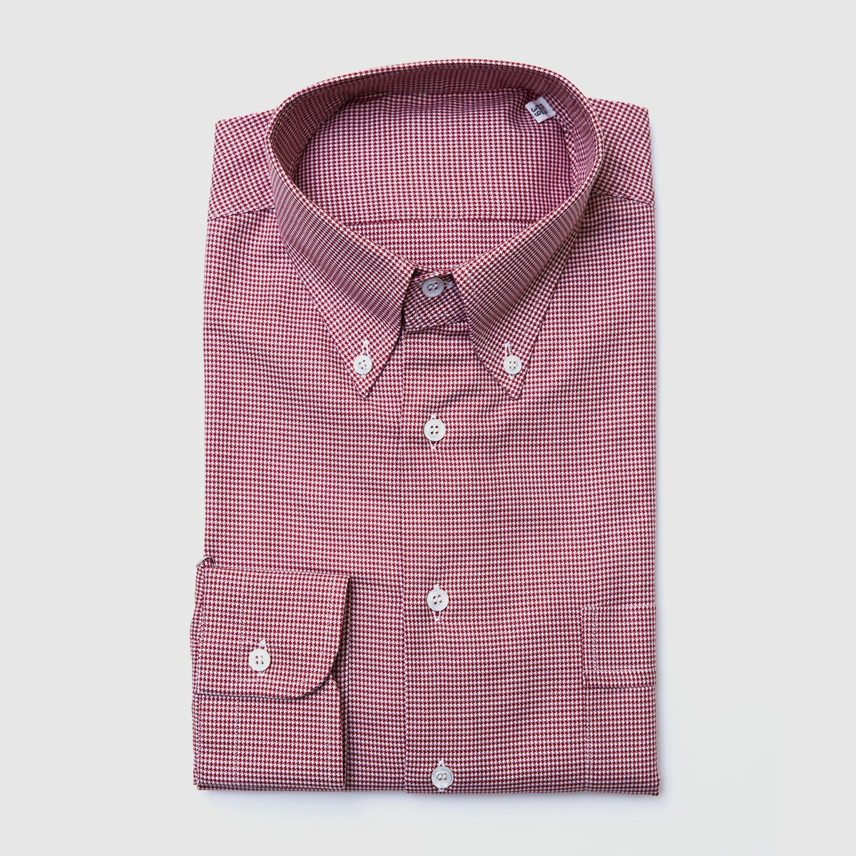 Oxford Pied de poule shirt