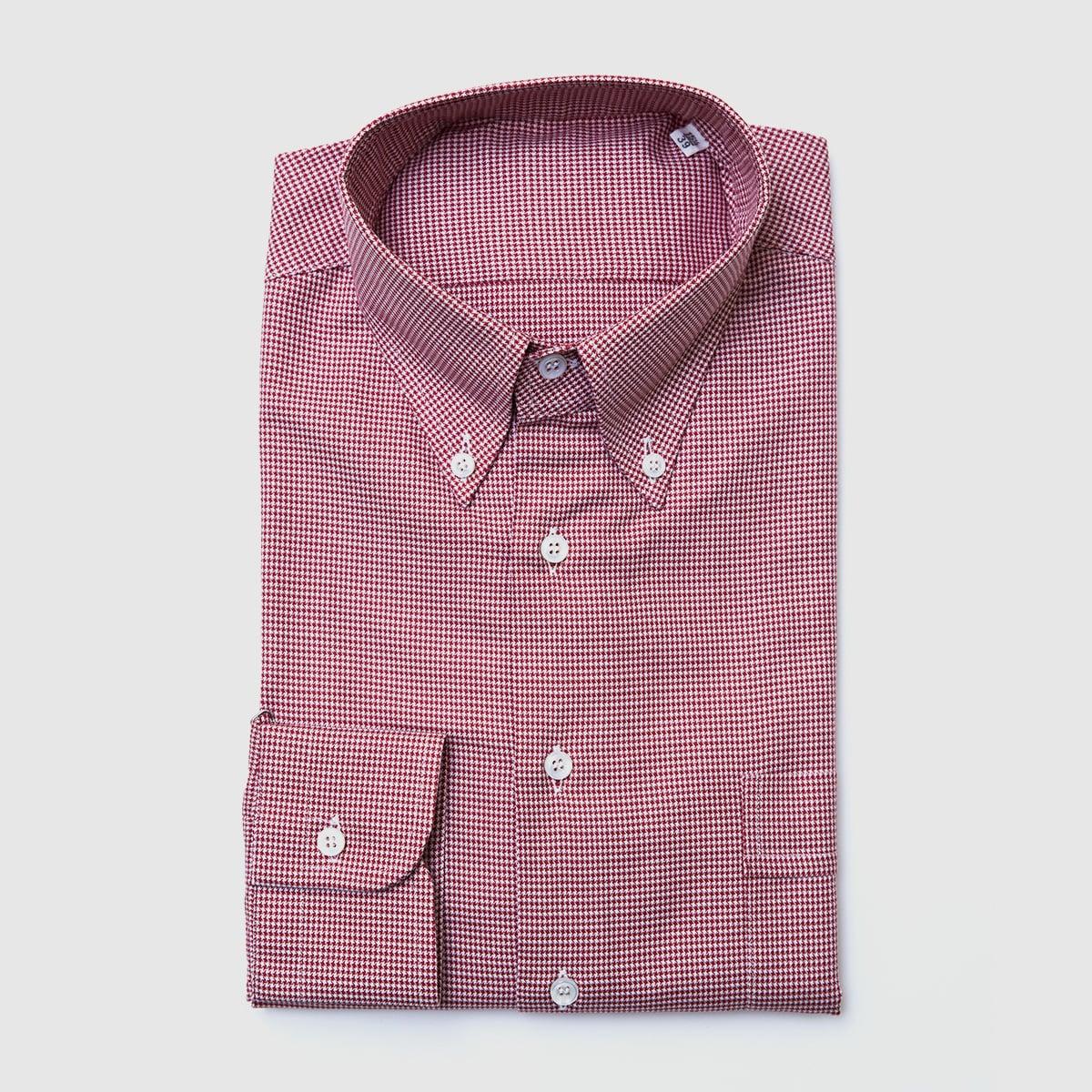 Oxford Pied de poule shirt