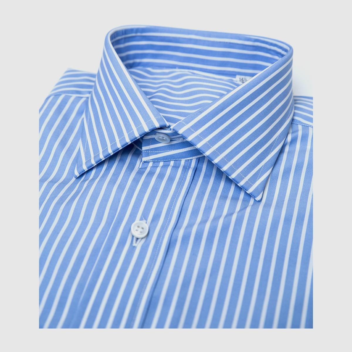 Camicia Riga bianca popeline