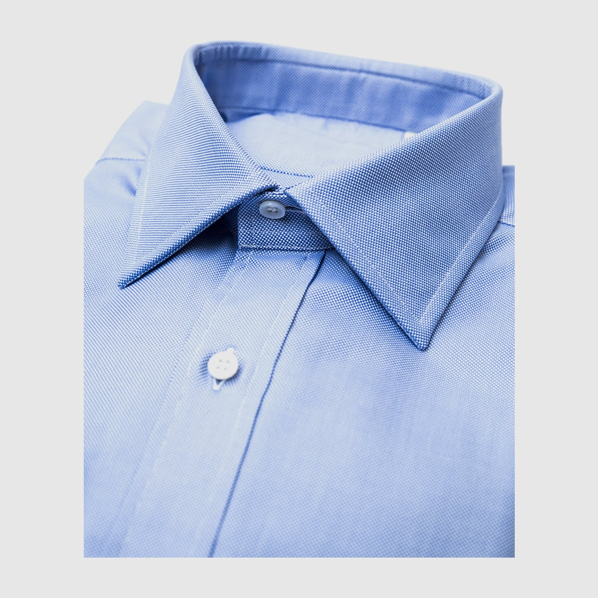 Azure Oxford shirt
