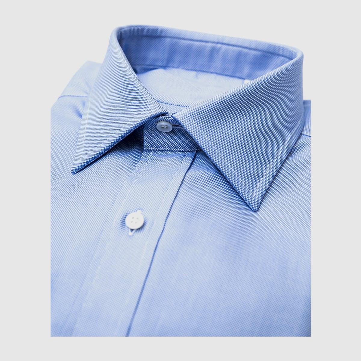 Azure Oxford shirt
