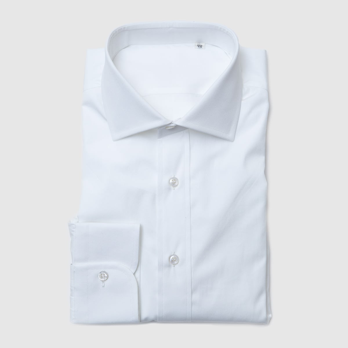 White popeline shirt