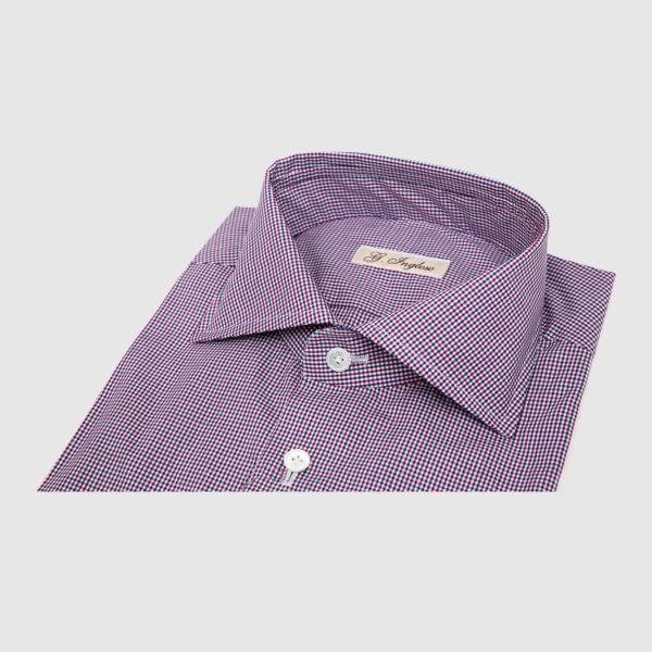 Camicia in Check Multicolor