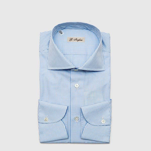 Camicia Popeline celeste