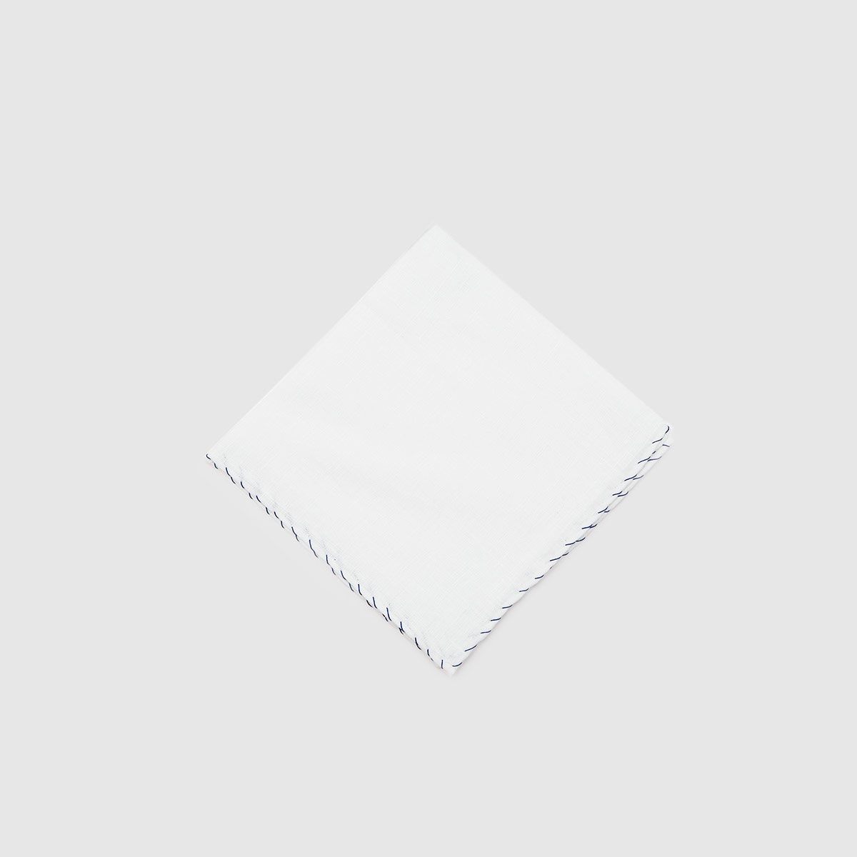 Pochette in Popeline Bianco Punto Cavallino