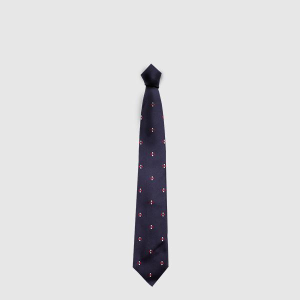 Classic tie jacquard silk fabric