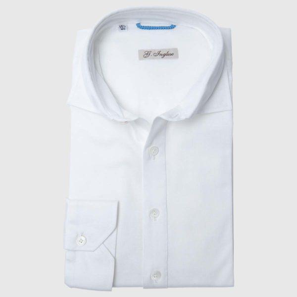 Polo Camicia in Voile di cotone