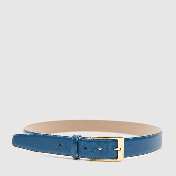 Bluette saffiano calfskin belt