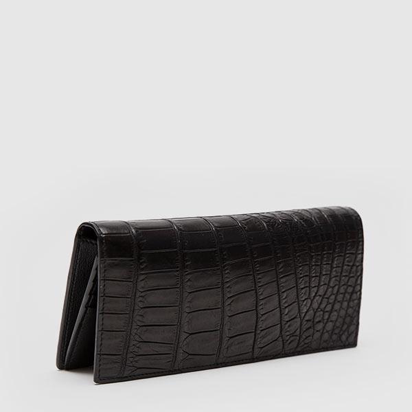 Crocodile vertical wallet