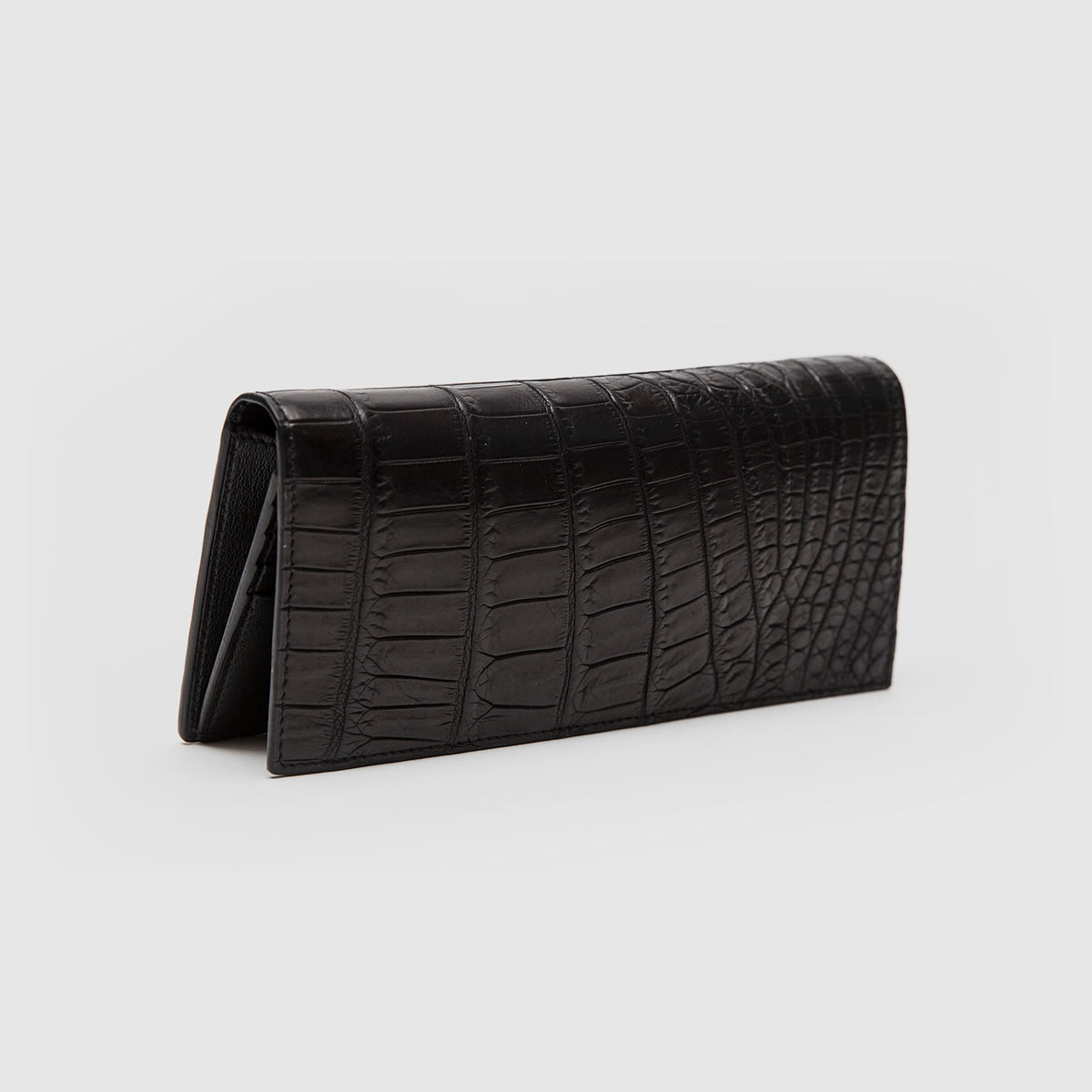 d1662f88e7 Crocodile vertical wallet