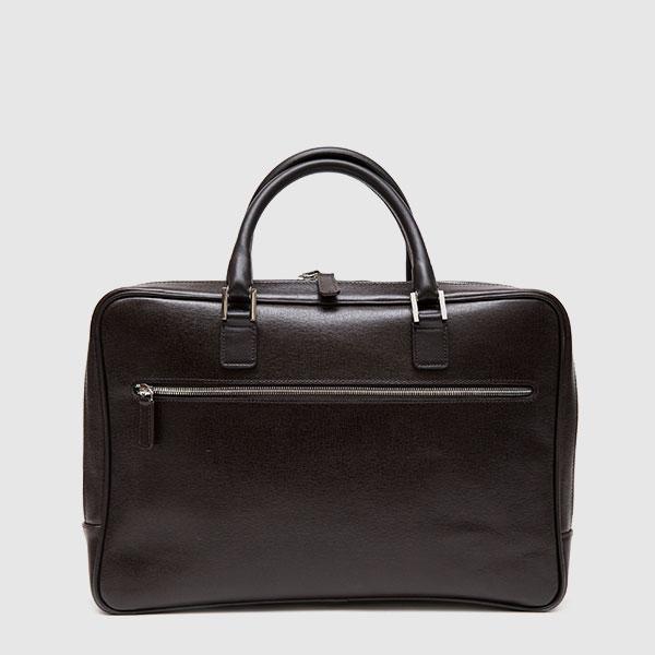 Black Calf leather briefcase
