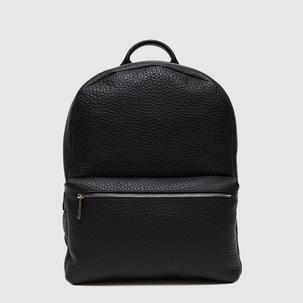 Calf leather backpack