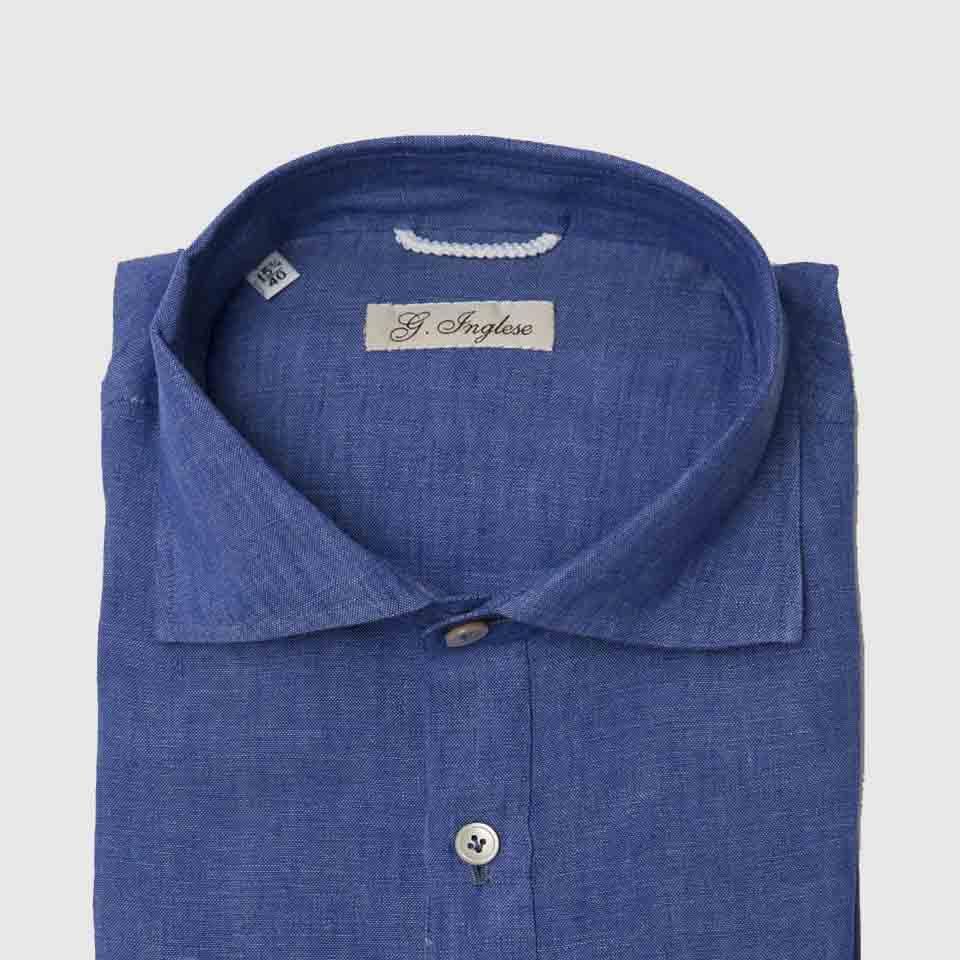 Linen polo-shirt