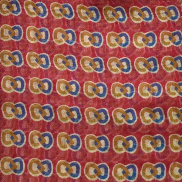 Sciarpa rossa modal lino seta