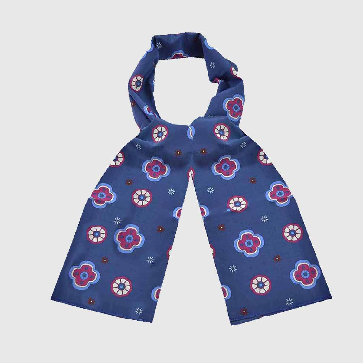 Cotton Silk Foulard