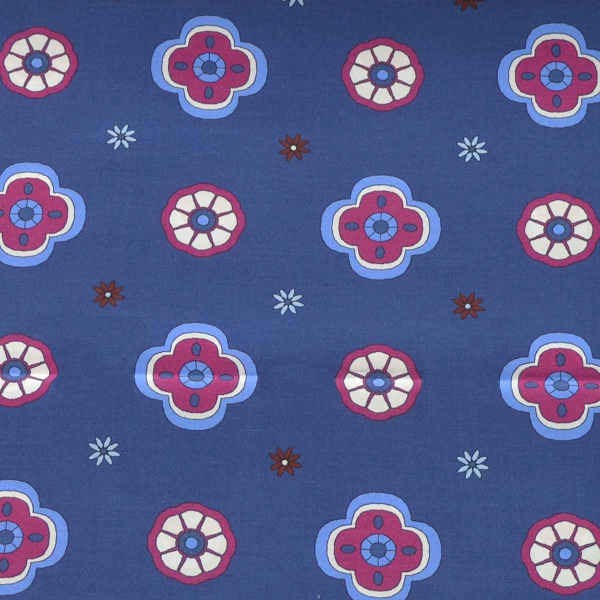 Cotton Silk Foulard