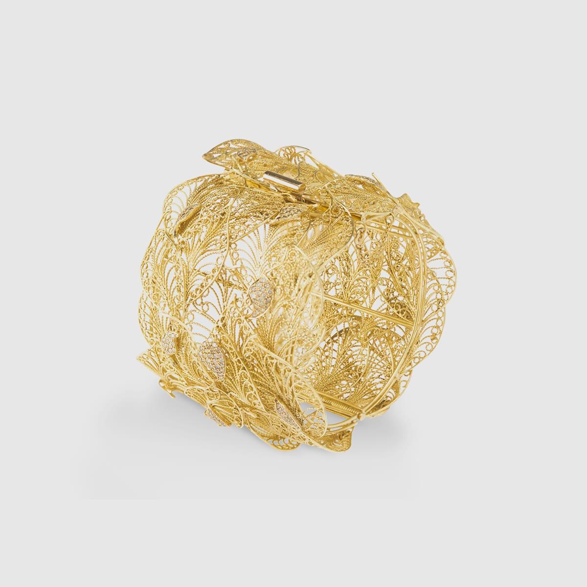 Yellow Gold cuff wraps