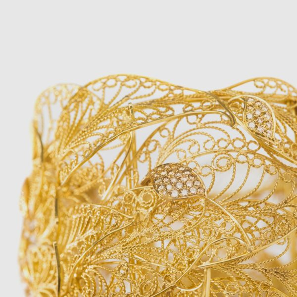 Yellow Gold cuff wraps
