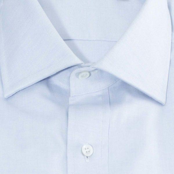 Camicia Azzurra Pin point