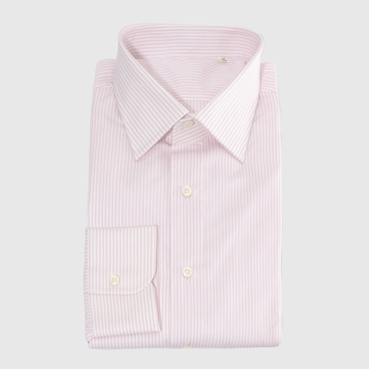 Popelin striped pink and with shirt