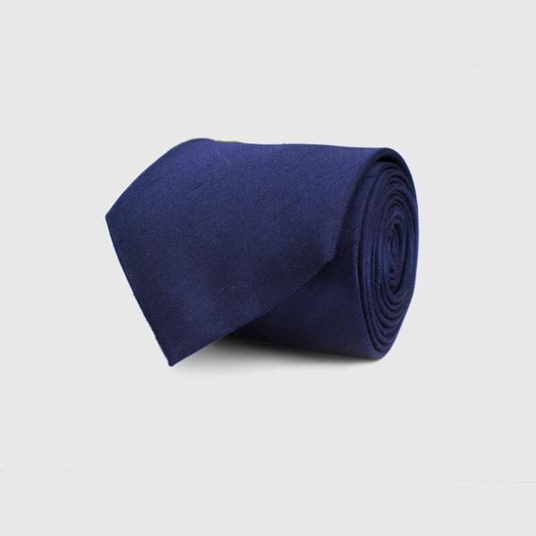 Cravatta 5 piegheblu scuro