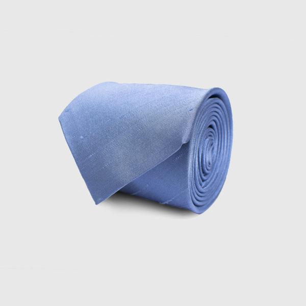 Cravatta 5 pieghe blu chiaro