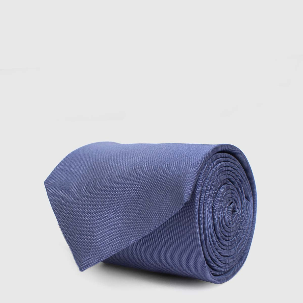 Silk Blue 5-Fold Tie