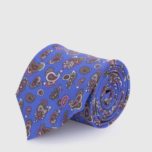 5 pieghe fondo azzurro e pattern
