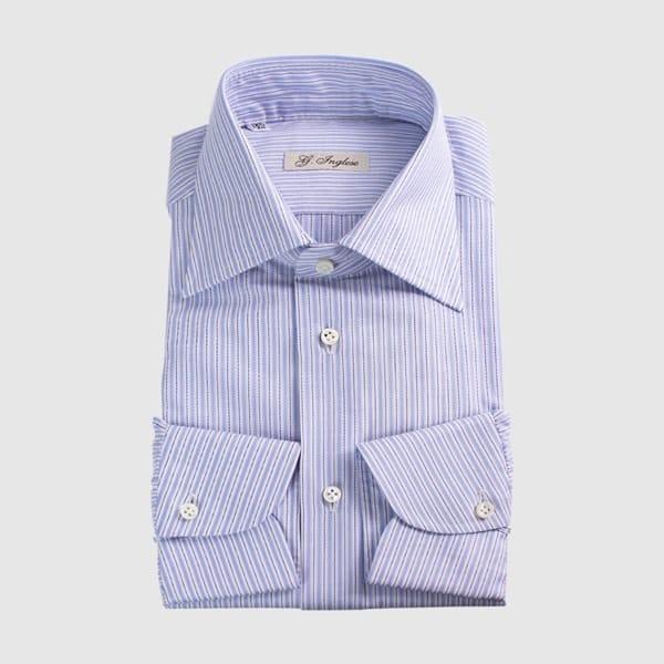 Camicia Cotone Armaturato rigato