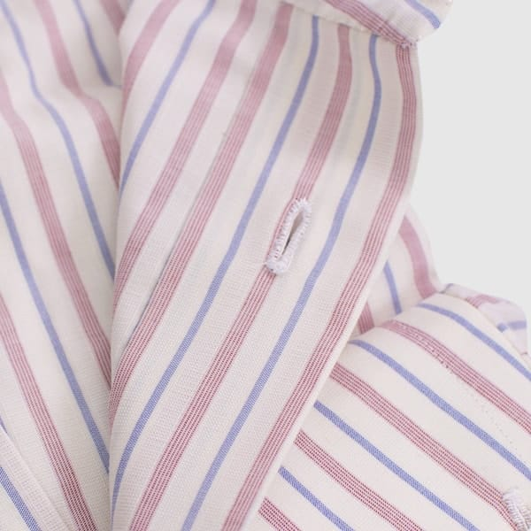 Chambray cotton shirt made by G Inglese tailoring