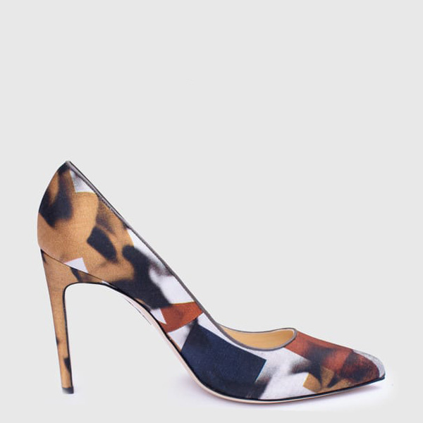 Viva Pump 100 Geometric Satin