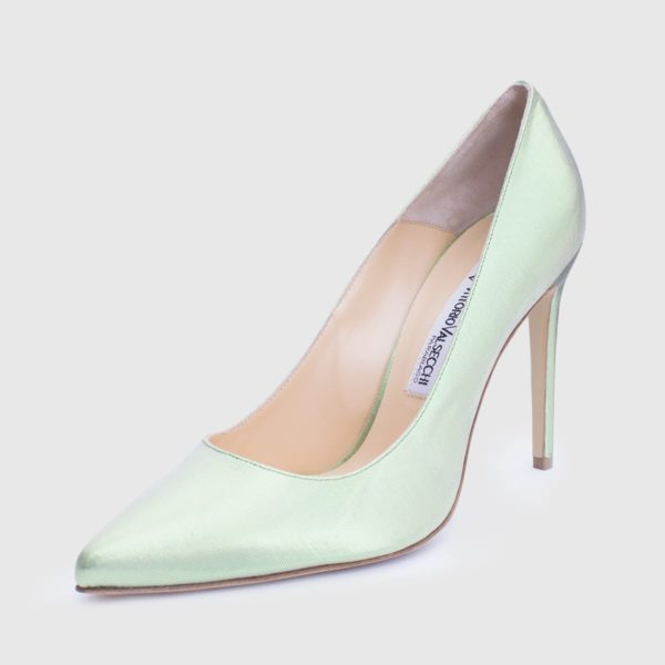 Viva Pump 100 Lamè green