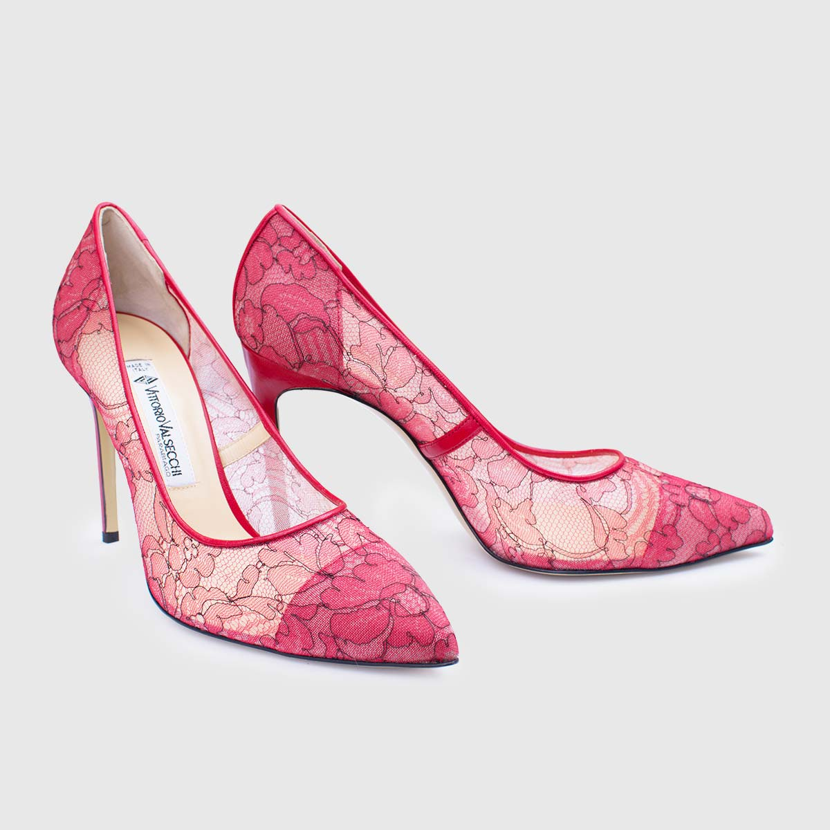 Viva Pump 100 Red Lace
