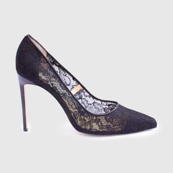 Viva Pump 100 Black Lace