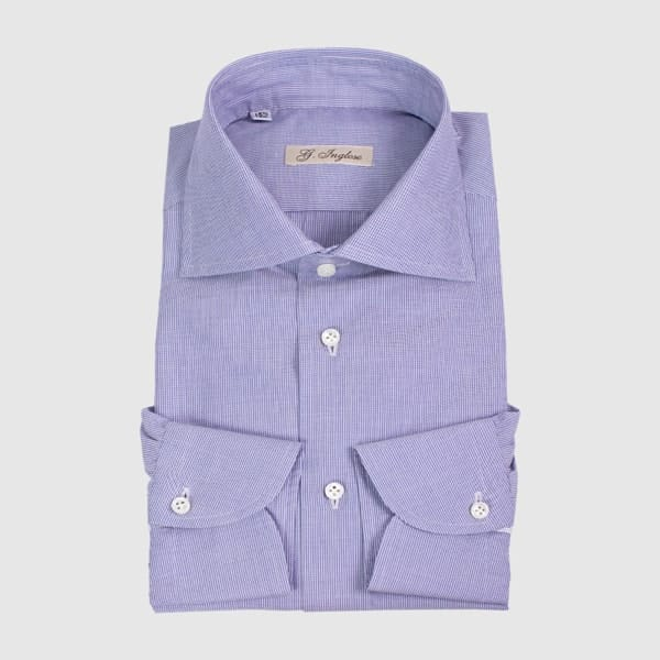 Striped shirt made by G.Inglese tailoring