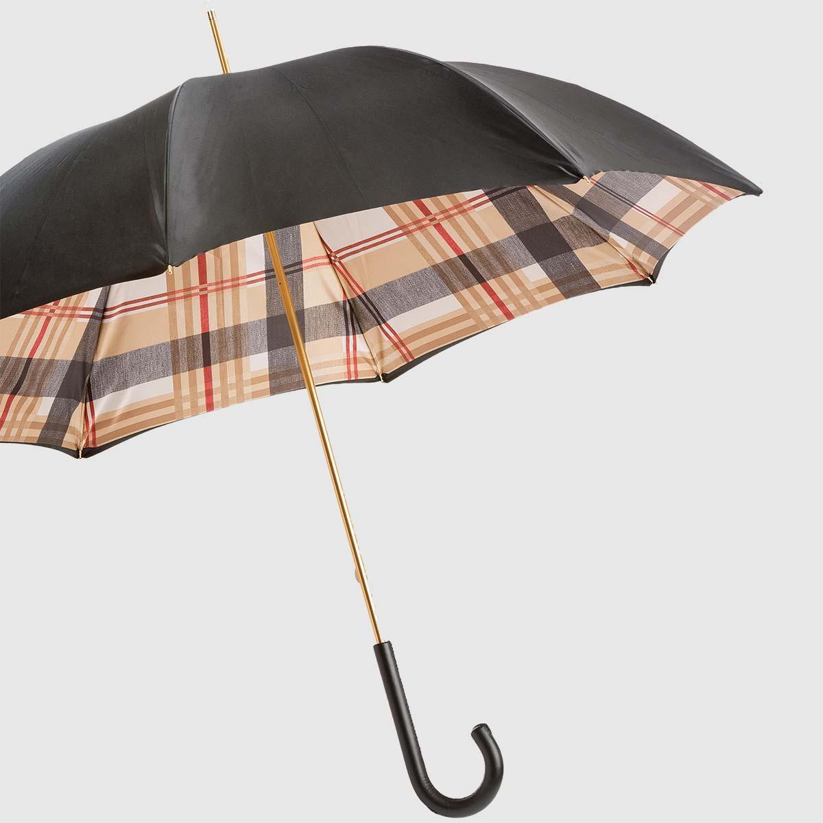 Elegant and versatile women's umbrella made by Pasotti