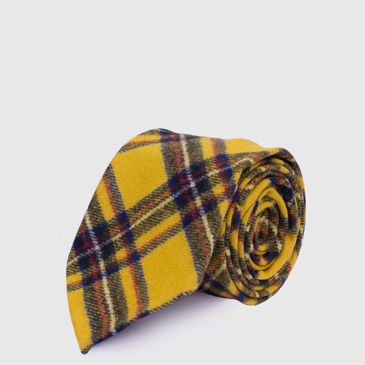 Pure Tartan Wool G.Inglese Tie