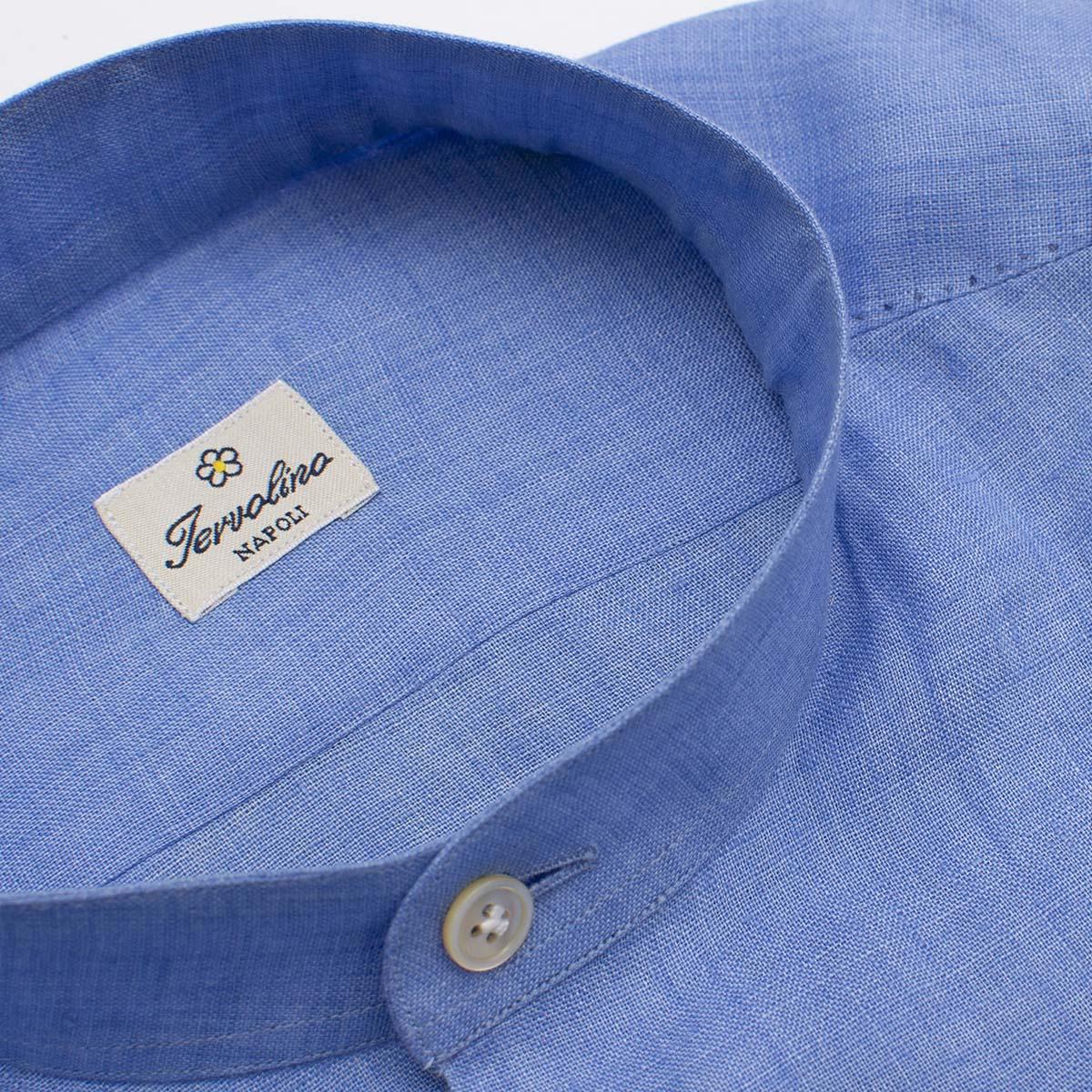 Six handmade steps Celestial Linen Shirt