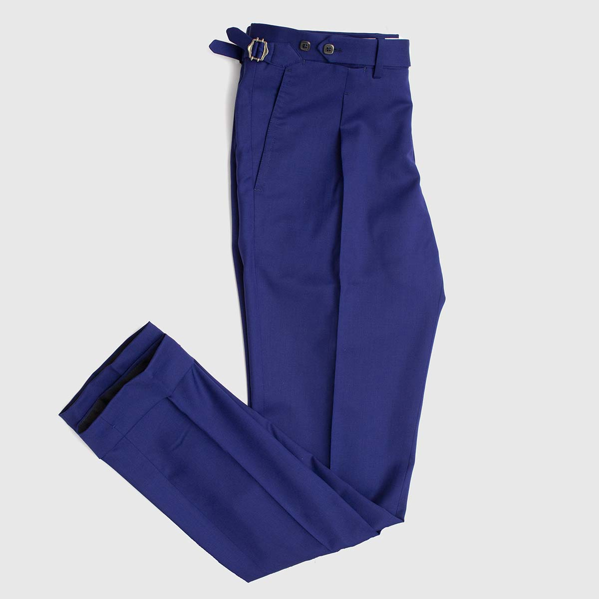 Vitale Barberis Canonico Super 110's One Pleat Trousers
