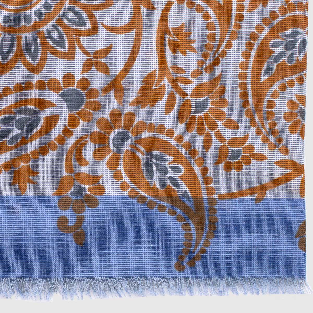 100% flower patterned cotton Scarf