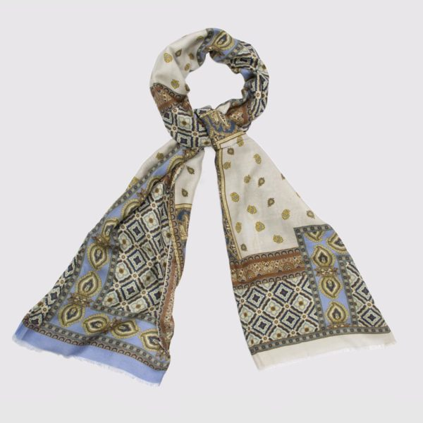 Modal and Cashmere fabric Ghotic Scarf