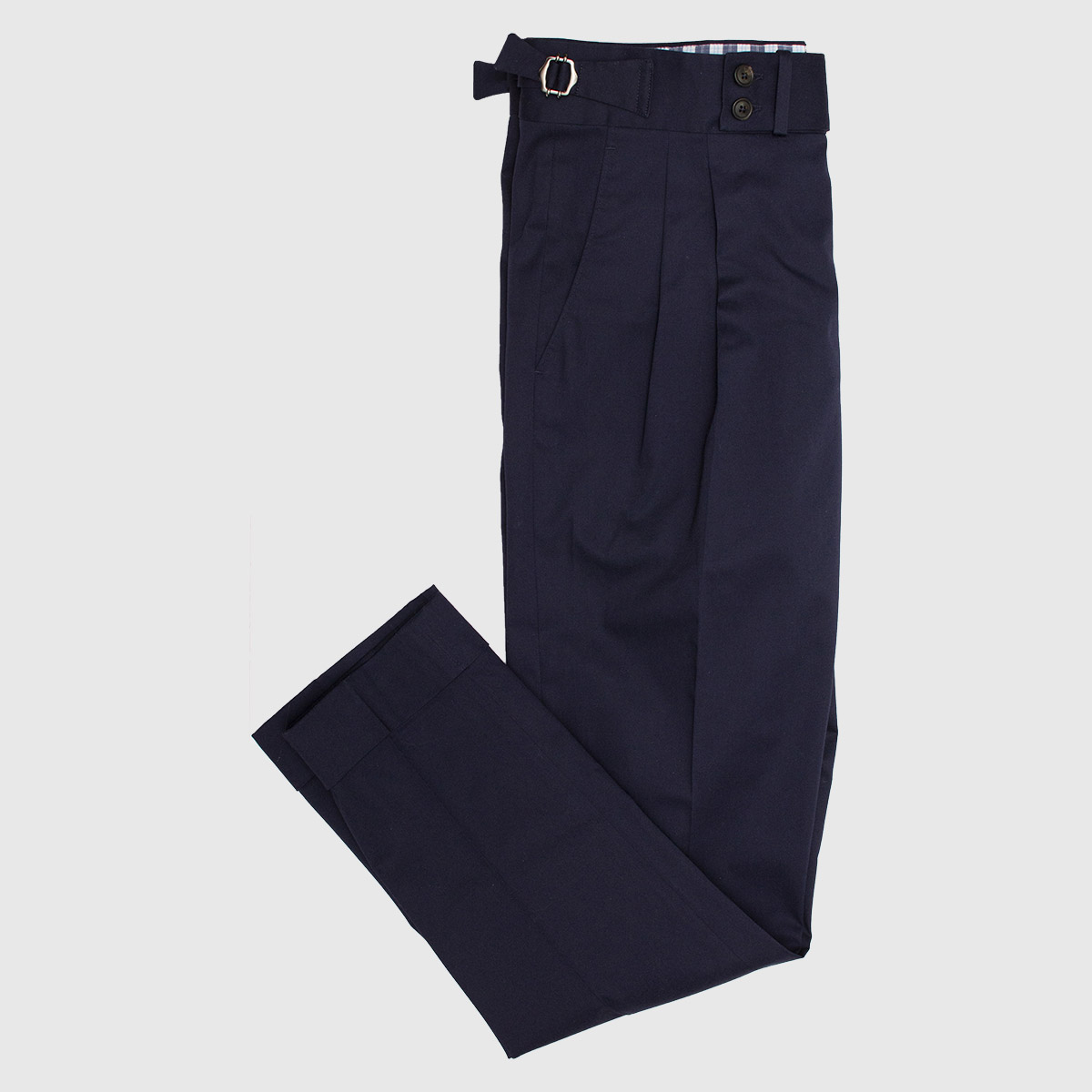 Two piences Blue Cotton Trousers