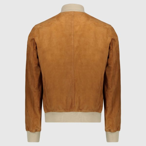 "Giacca bomber in suede Beige ""A1 Cary"""