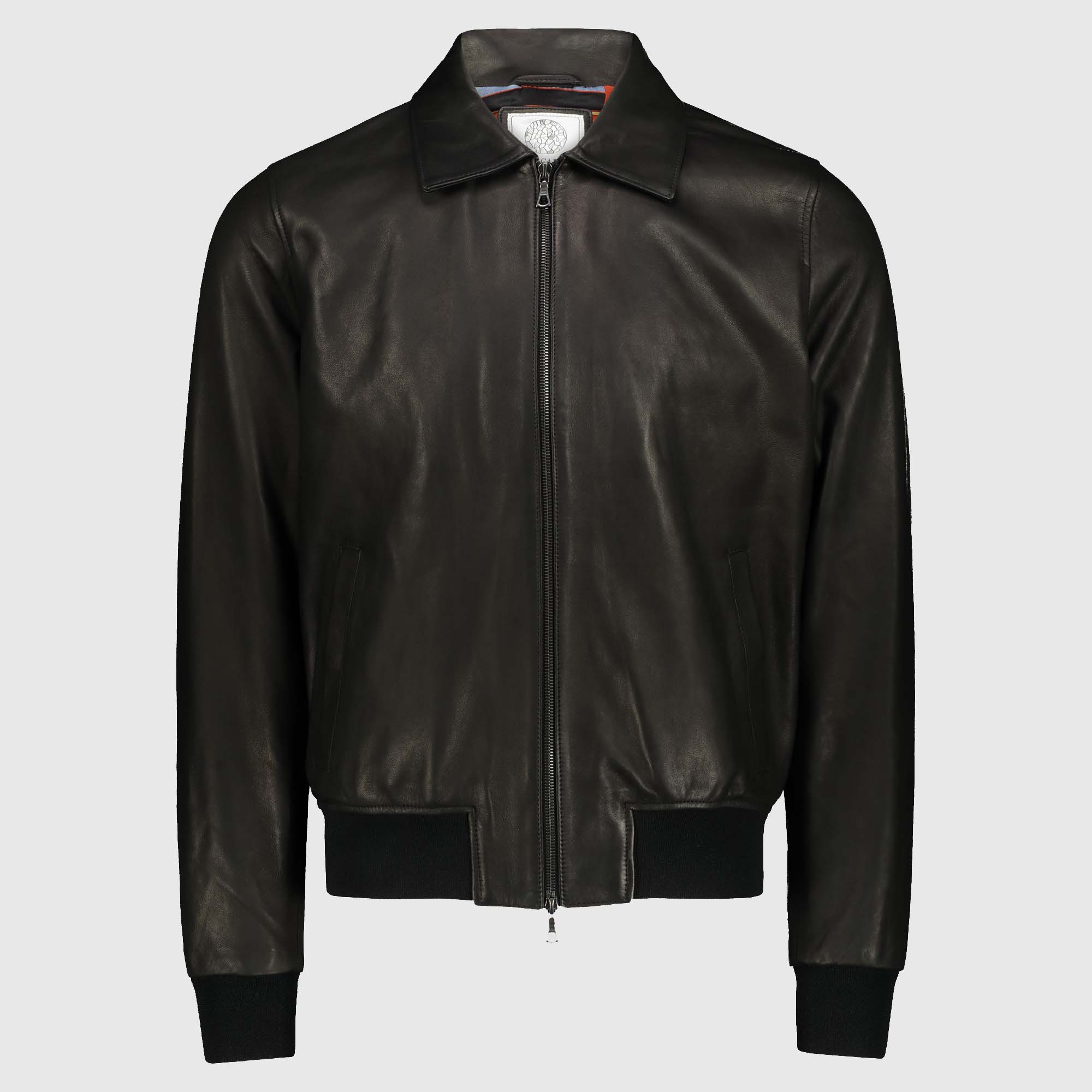 "Black lambskin Jacket ""a2 Jhon"""