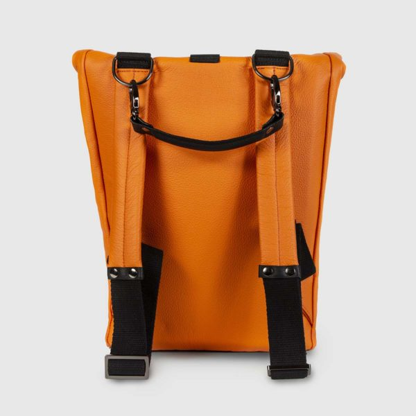 Orange and Black Astron Hadley Backpack