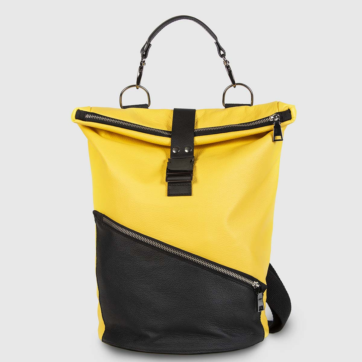 Yellow and Black Astron Hadley Backpack