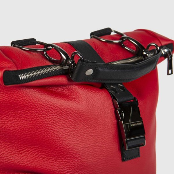 Red and Black Astron Hadley Backpack