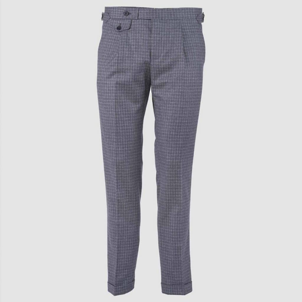 "Grey Wool "" Vitale Barberis Canonico"" Trousers"
