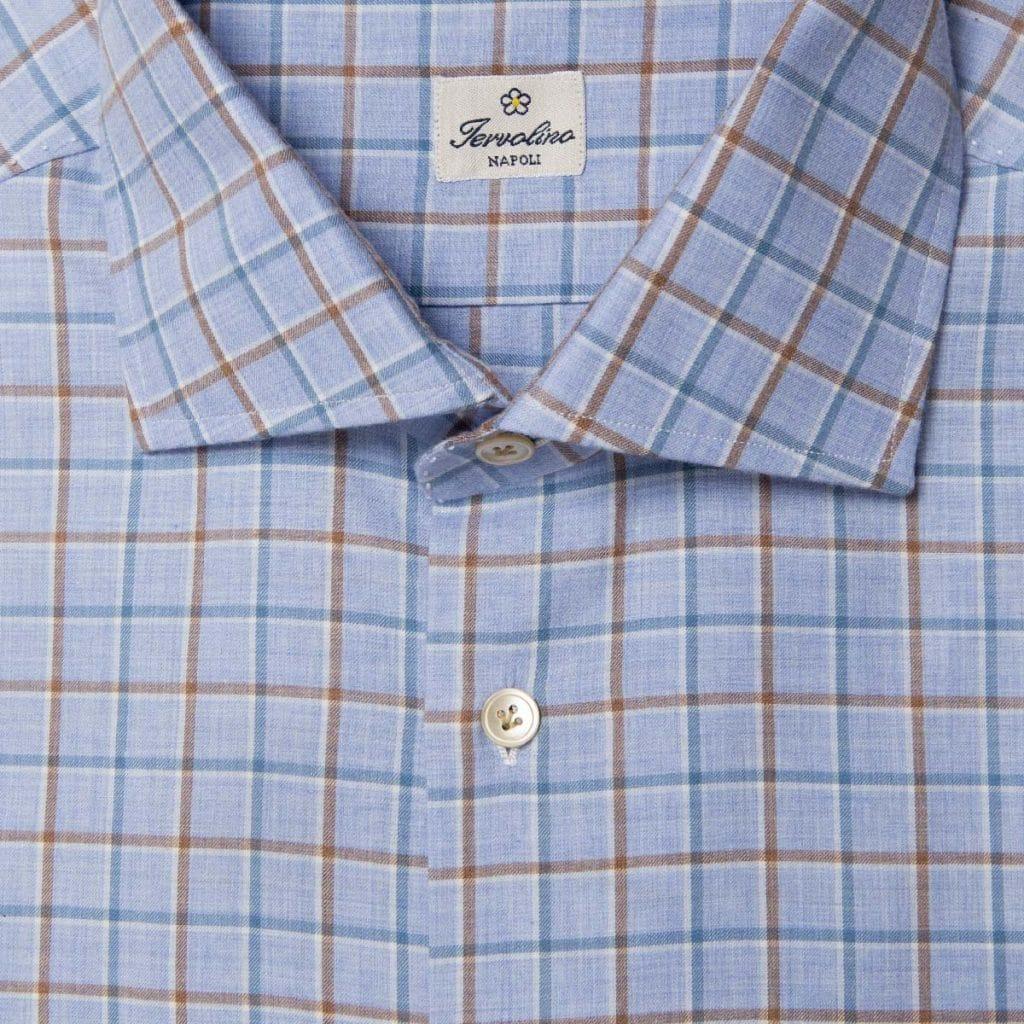 Twelve handmade steps plaid flannel shirt